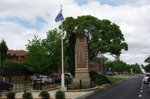 Punchbowl Cenotaph : April 2014