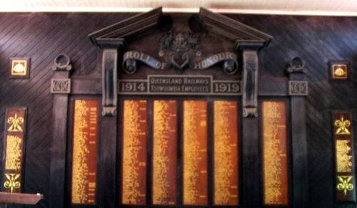 Qld Railways Roll of Honour