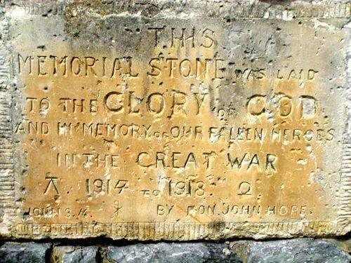 Railton Memorial Stone : 2007