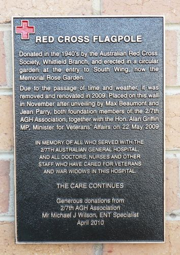Red Cross Flagpole : 10-March-2012