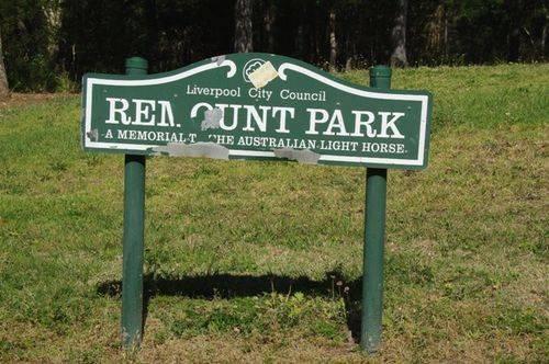 Remount Park Sign Inscription : March 2014