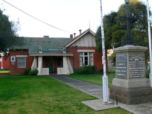 Returned Services League Memorial Hall : 22-July-2012
