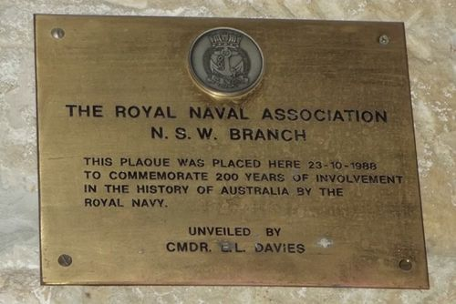 Royal Naval Assoc Plaque : March 2014