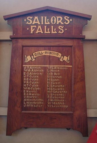Sailors Falls State School Honour Roll : 08-June-2013