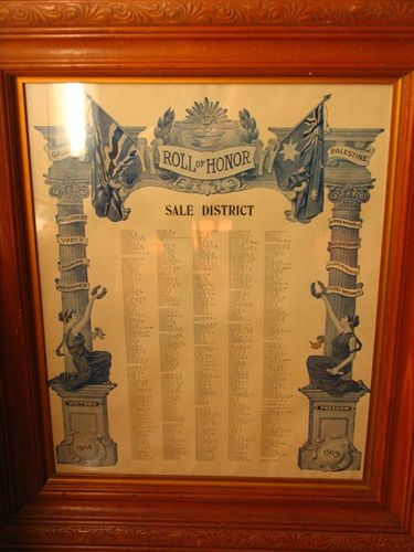 Sale District Roll of Honor : 14-December-2011