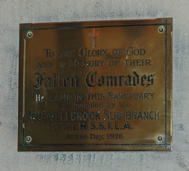 Plaque Inscription: 06-November-2014