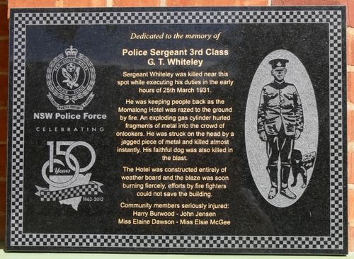 Sergeant George Whiteley : 16-May-2013