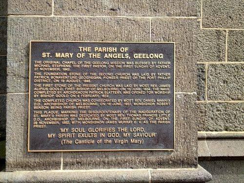Sesquicentenary of St Mary`s Parish : November 2013
