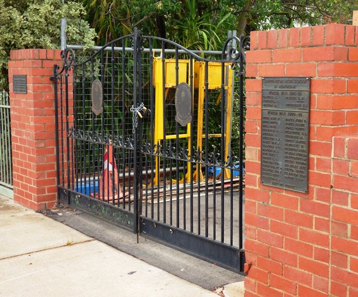 Shepparton High School Memorial Gates | Monument Australia