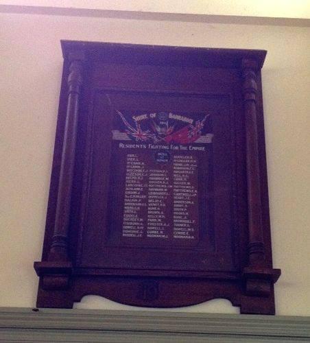 Shire of Barrabool Honour Roll : November 2013