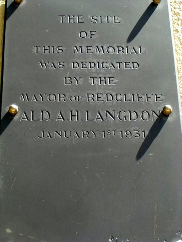 Site Dedication Plaque