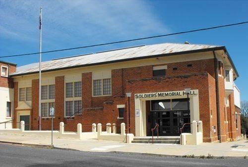 Soldiers Memorial Hall : 26-October-2010