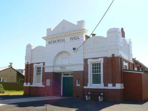 Soldiers` Memorial Hall : 28-December-2010