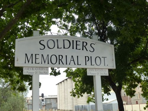 Soldiers Memorial Plot : 08-February-2012