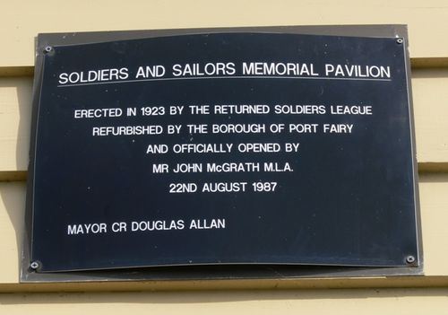Soldiers and Sailors Memorial Pavilion : 21-August-2012