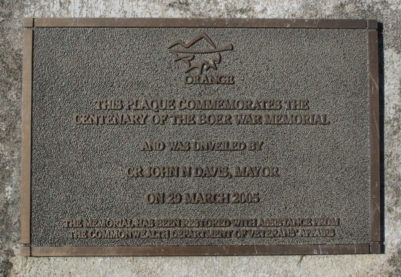Centenary Plaque : 06-march-2015