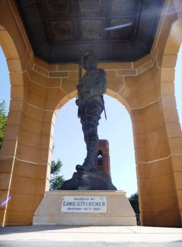 South African War Memorial : 3-September-2011