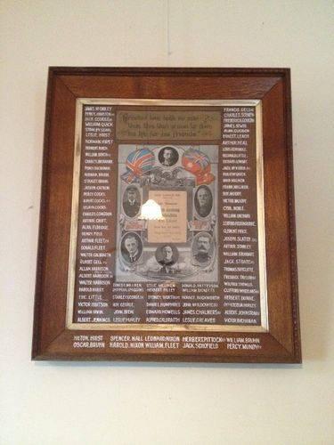 South Geelong Methodists Honour Roll : December 2013