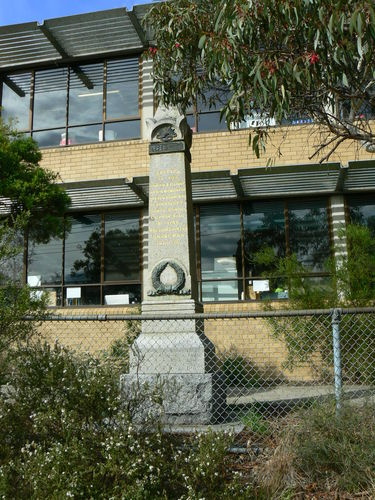 Spensley Street Primary School War Memorial : 24-April-2013