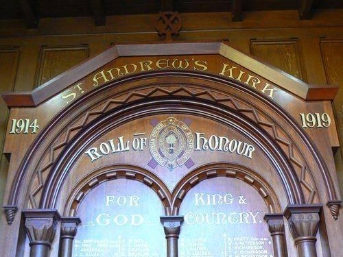 St Andrews Kirk Honour Roll