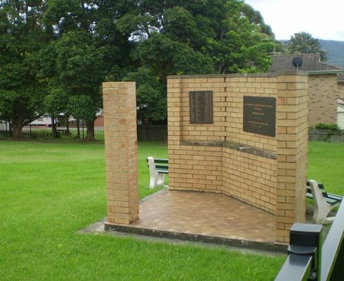 St Andrews Presbyterian Church Woonona Memorial Park  : 7-March-2012
