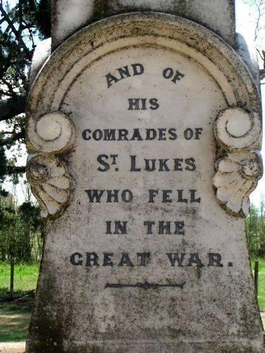 St Lukes War Memorial