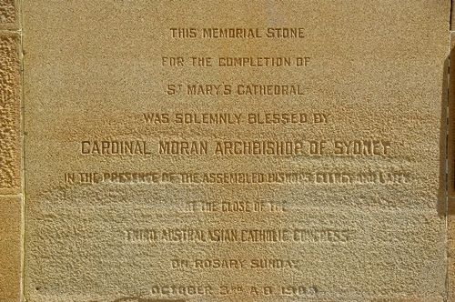St Mary`s Memorial Stone / April 2014