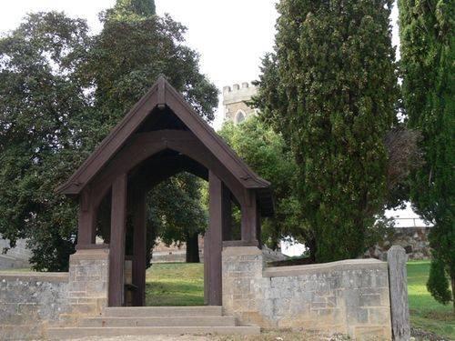 St Pauls Anglican Church Lychgate : 01-November-2011