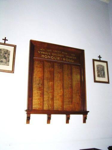 St Pauls Honour Roll
