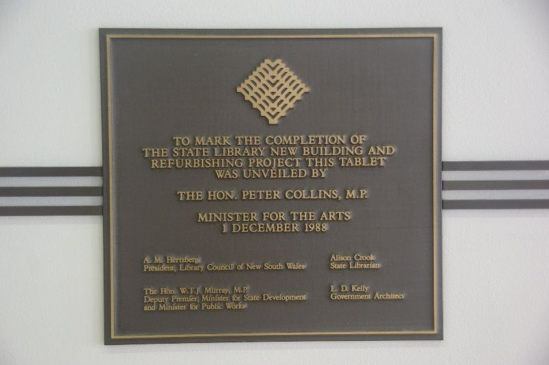 Completion Plaque : 15-January-2015