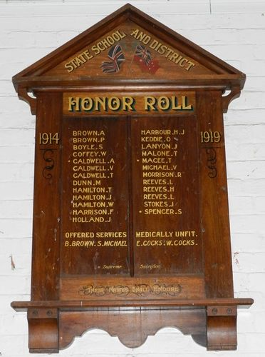 State School & District Honour Roll : 03-June-2013
