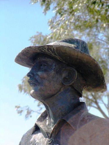 Stockman Statue