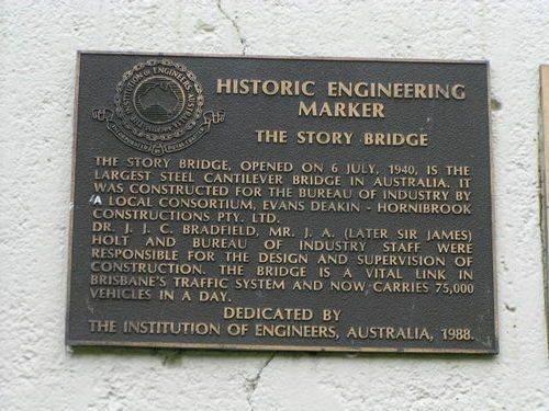 Story Bridge Engineering Marker