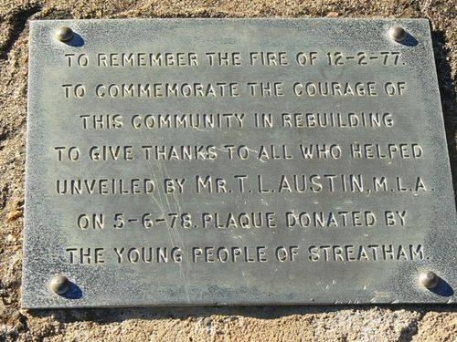 Streatham Bushfire Memorial