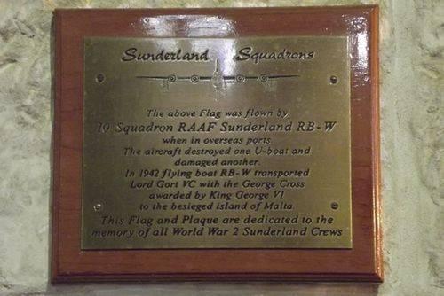 Sunderland Crews Plaque : March 2014