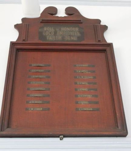 Tailem Bend Loco Employees Honour Roll : 24-June-2012