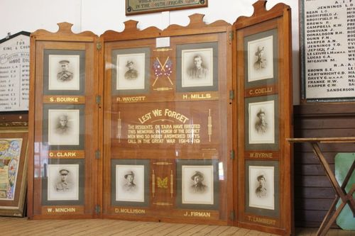 Tara Honour Roll : 29-September-2012