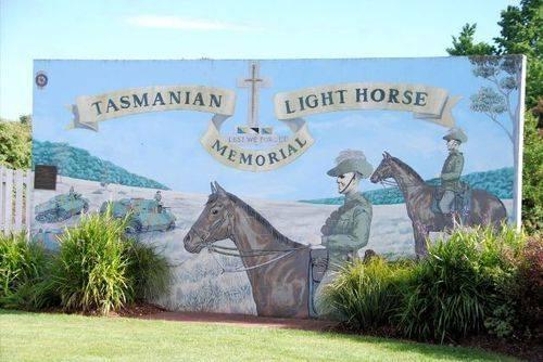Tasmanian Light Horse Memorial : 21-November-2011