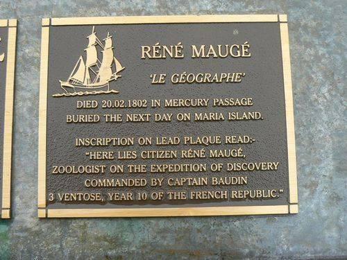 Rene Mauge Plaque : 2007