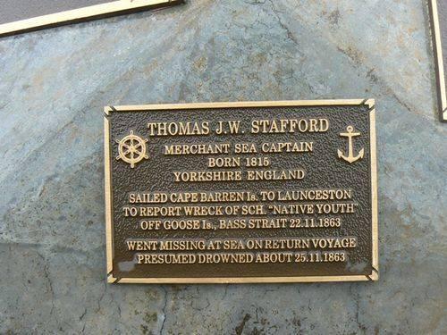 Thomas J. W. Stafford Plaque : 2007