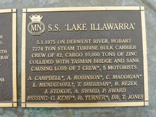S.S. Lake Illawarra : 2007