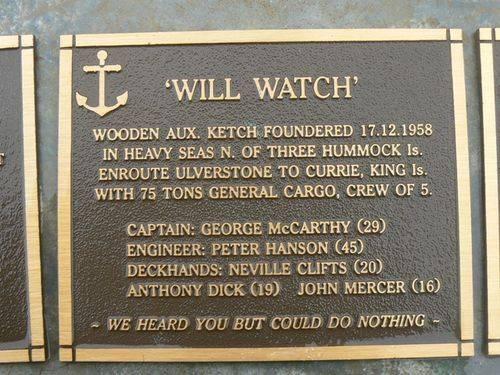 Wilk Watch Plaque : 2007