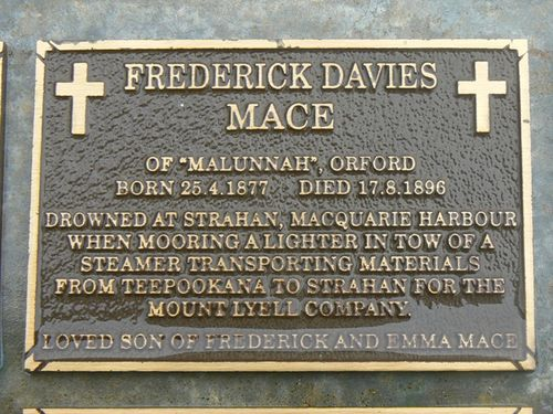 Frederick Davies Mace : 2007