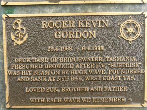 Roger Kevin Gordon : 2007