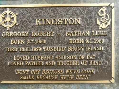 Kingston-Gregory Robert & nathan Luke : 2007