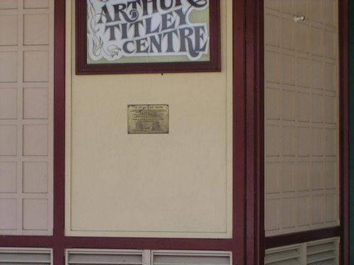 The Arthur Titley Centre : 23-April-2011