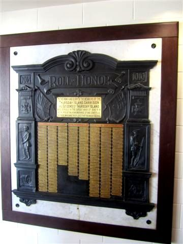 Thursday Island Honour Board : 22-07-2013