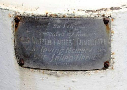 Unley Citizen Ladies Committee Memorial : 06-December-2012