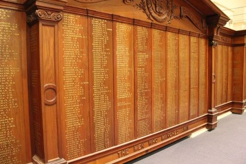 Unley City World War One Honour Roll : 06-December-2012