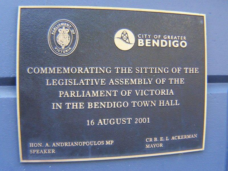 Legislative Assembly Plaque : 27-November-2014